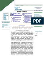 Korean Literature (Character of Korean Literature Korean Cla.pdf