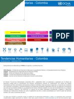 Tendencias Humanitarias en Colombia