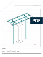 Autodesk Robot Structural Analysis Professional 2015 - [View - Cases_ 1 (PERM1)]