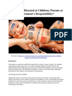 Advertising Directed at Children- Parents or Governments Responsibility.pdf