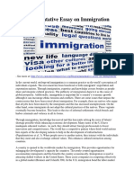 Argumentative Essay on Immigration.pdf
