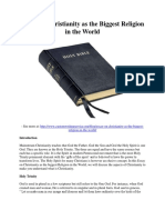 Essay on Christianity as the Biggest Religion in the World.pdf