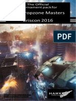Qld Dropzone Masters Briscon 2016 Official Tournament Pack