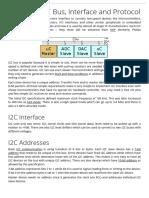 I2C Info – I2C Bus, Interface and Protocol