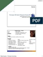 Penerapan ISO dalam Pelayanan Farmasi Rumah Sakit
