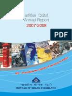 Annual Report 0708