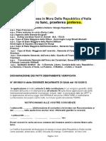 163-Notifica Di Messa in More Republic of Italy (1) Aggiornata Dicembre Vers 6