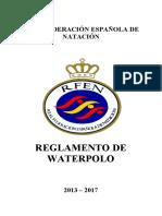 Reglamento WP 2013-2017