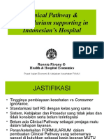 Clinical Pathway & Formularium supporting in Indonesian's Hospital