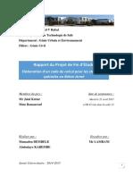 Rapport Du Projet de Fin Détude GC2 2