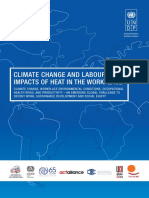 Climate Change and Labour Impacts of Heat in the Workplace
