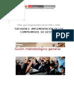Guión Metodológico Taller de Implementación Compromisos de G (2)