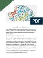 2º Clase - Métodos y Estrategias de Investigación de La Psicobiologia