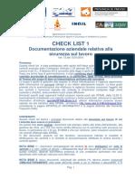 2016 ULSS VENETO Check Documentazione Azienda v13