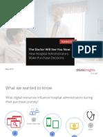 Medical Purchase Survey