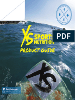 XS Sports Nutrilite Product Guide