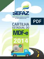 Cartilha Estadual MDF-e Novo