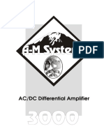 3000manual AC-DC Differential Amplifier