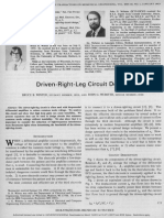 Driven Right Leg Circuit Design