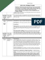 ecd 131 literacy plan form  1
