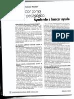 Entrevista a Nicastro. el director como asesor pedagogico