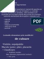 Dermatologie Curs 1