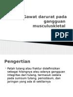 Gawat Darurat Pada Gangguan Musculuskletal