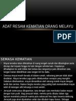 Adat Resam Kematian Orang Melayu