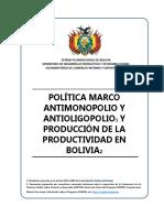 Politica Marco Anti Monopolio