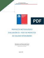 1 BChile Metodologia EVAL EX POST 2013