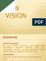 Contoh Presentasi Kasus Low Vision