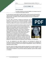 COCOMO II - Gerencia de Proyectos Informáticos