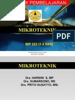 Kontrak Pembelajaran Mikroteknik