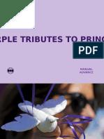 Purple Tributes to Prince