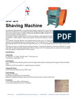 SS-24  Shaving Machine