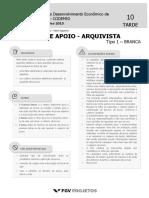 CODEMIG Analista de Apoio - Arquivista (AAARQ) Tipo 1