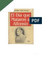 Sc3a1enz Dalmiro Joselovsky Sergio El Dc3ada Que Mataron a Alfonsc3adn PDF