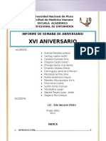 Informe Final de Aniversario