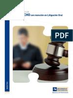 Maestrá en Litigación Oral