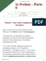 La Matrix Svelata – Parte 1_ l'AIDS