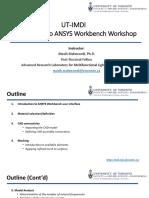 ANSYS Workbench Workshop