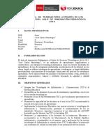 PLAN ANUAL DE TRABAJO PARA LA MEJORA DE LOS  APRENDIZAJES DAIP IE JCM.doc