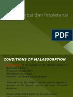 6. Malabsorbsi Dan Intoleransi - Dr. Joko WW