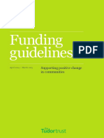 Funding Guidelines 2014-2015