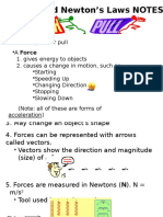 forces notes review ppt