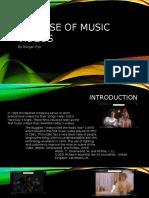 my documentspurpose of music videos