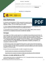 Alta Definición - Televisión Digital