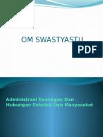 Administrasi Keuangan Dan Hubungan Sekolah Dan Msyrkt