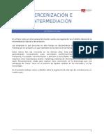 Tercerización e Intermediación