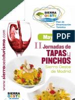 Folleto Tapas y Pinchos